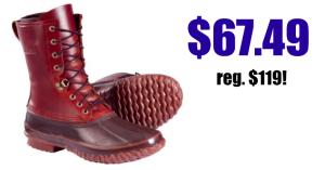 Men's Waterproof Boots $67.49 (reg. $119)