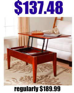 Turner Lift-Top Coffee Table only $137.48! Regularly $189.99