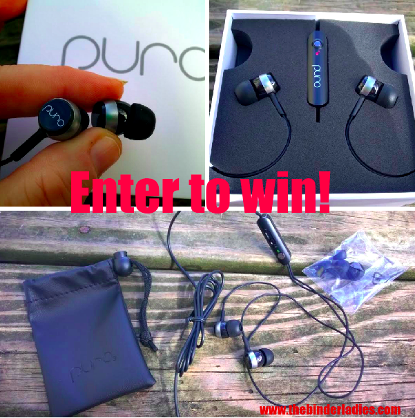 Puro Sound Labs Earbuds Giveaway