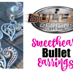 Bullet Designs Sweetheart Bullet Earrings – Dainty & Dynamic!