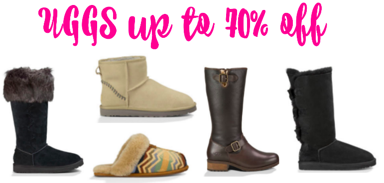 UGGs up to 70% off