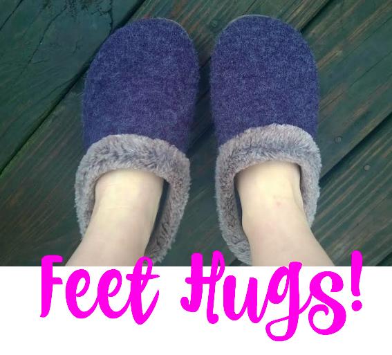 Feet hugs