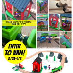 GIVEAWAY!  Enter to win a BRIO Countryside Horse Set ($64.99 value)!