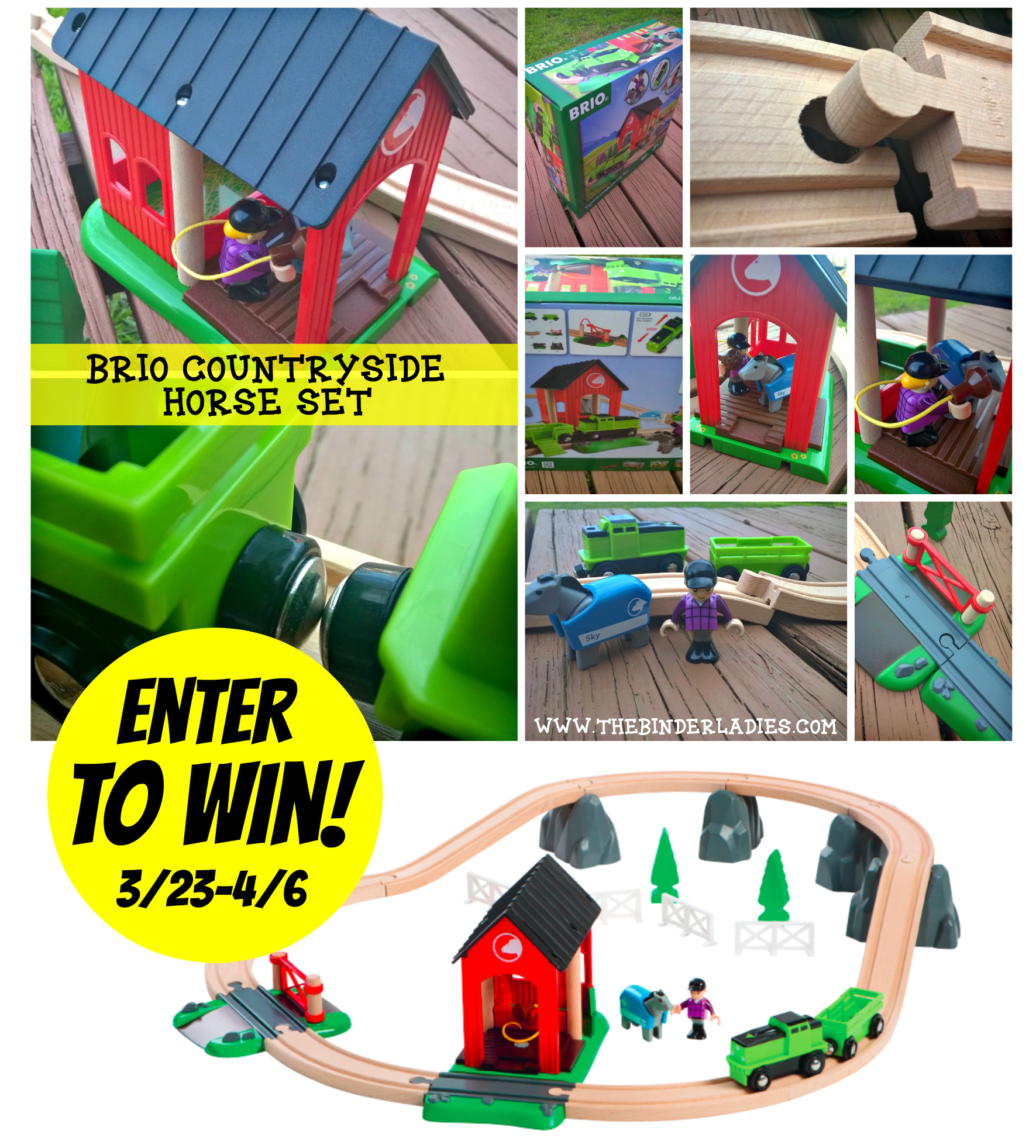 BRIO Countryside Horse Set GIVEAWAY!