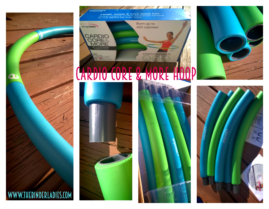 Cardio Core & More Hoop - Empower Fitness products made for WOMEN!