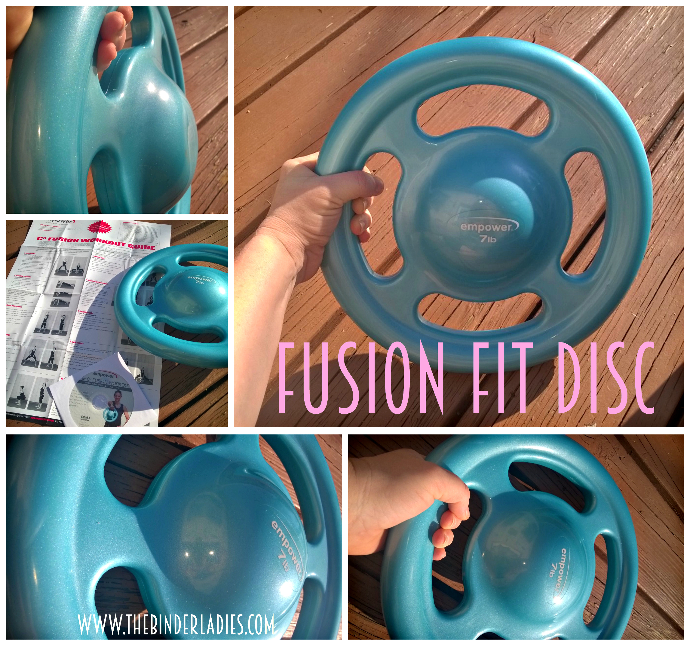 Empower Fitness Fusion Fit Disc - Workout equipment made for WOMEN!