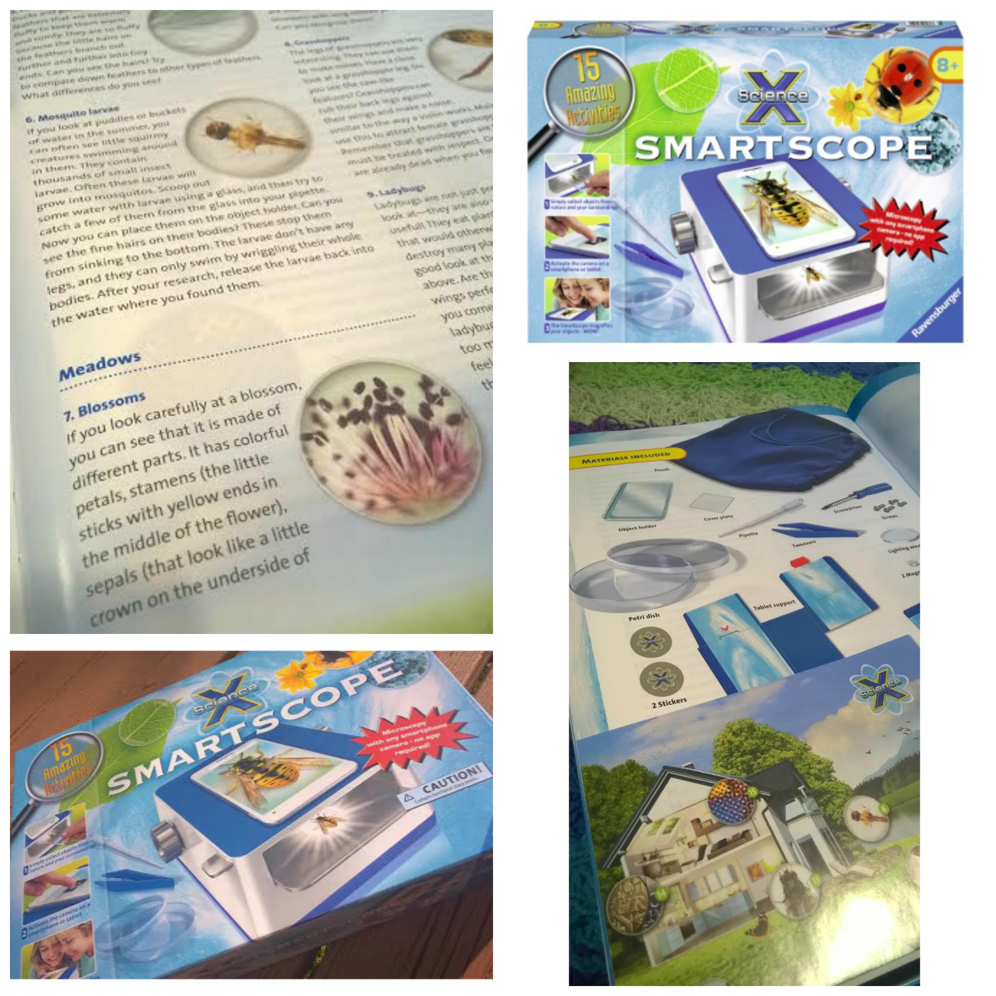 Ravensburger Smartscope: Amazing microscope for kids with some extra perks!