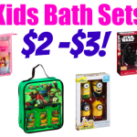Kids' Bath Gift Sets (Minions, Star Wars, Princesses and more) as low as only $2 Each!
