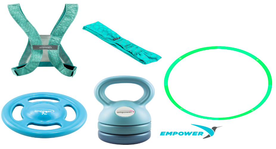 Empower Fun Fitness Products Made for WOMEN!