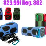 ELEGIANT Waterproof Bluetooth Speaker only $29.99 (reg. $82)