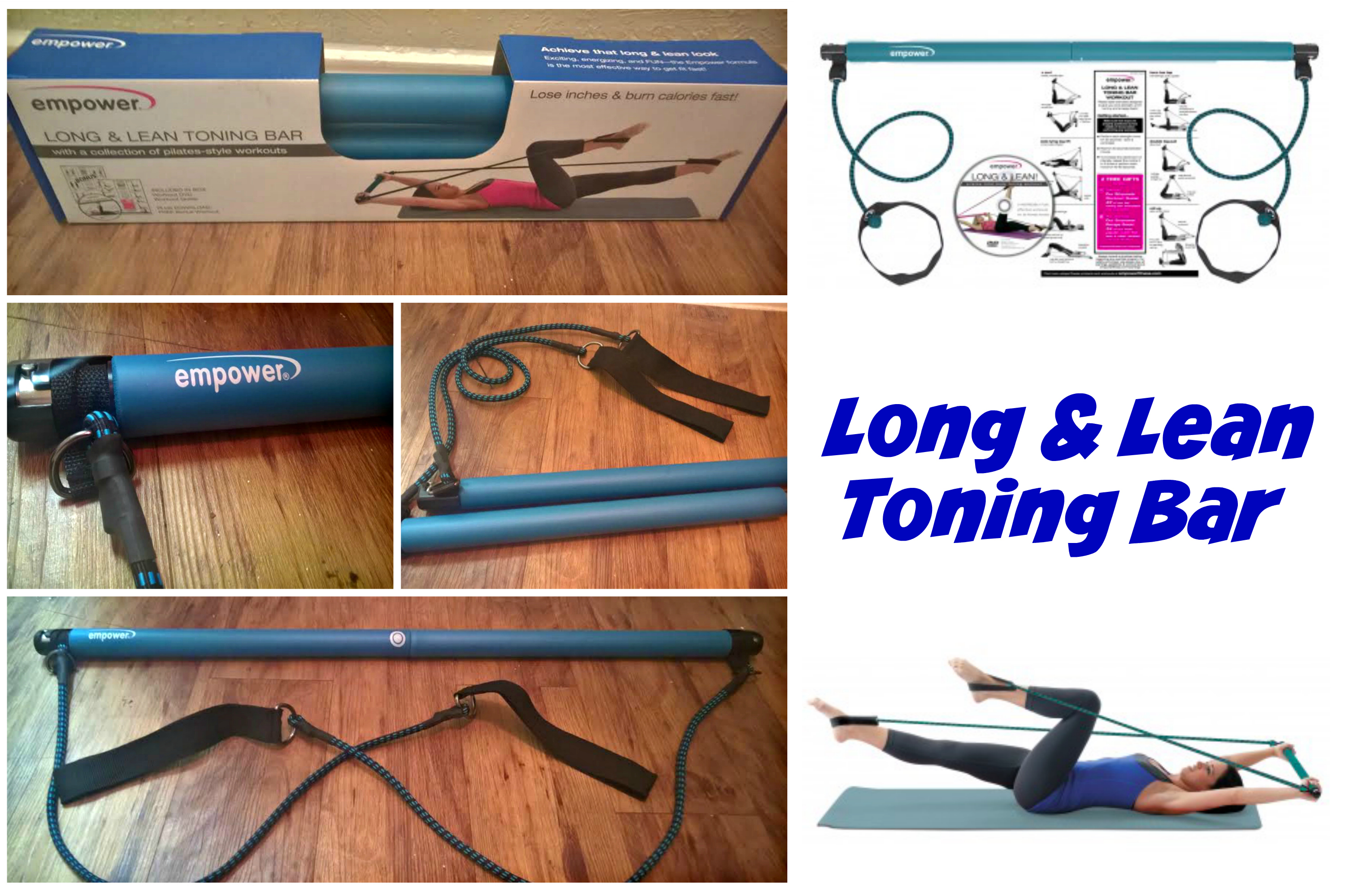 Long & Lean Toning Bar Empower Fitness