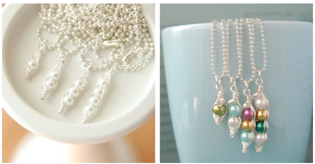 Mama's Sweet Peas Personalized Necklaces only $6.99 (reg. $24.99)