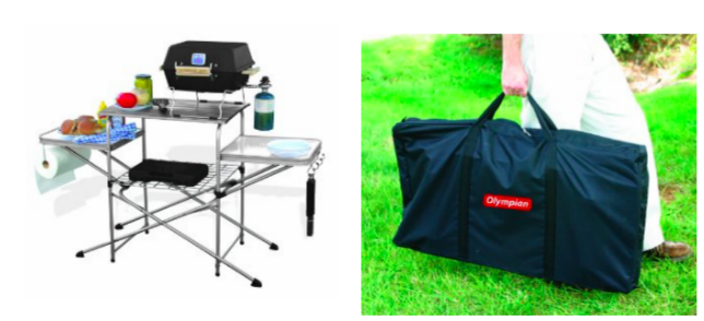 Deluxe Grilling Table - great for camping