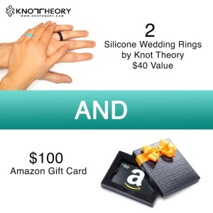 Knot Theory Silicone Wedding Rings + $100 Amazon Gift Card Giveaway #Knotheory #KnotheoryRing #2016SpringGuide
