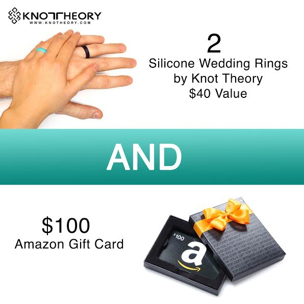 Knot Theory Wedding Rings and Amazon Gift Card Giveaway