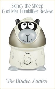 "Crane Cool Mist Humidifiers ""Sidney the Sheep"" Review"