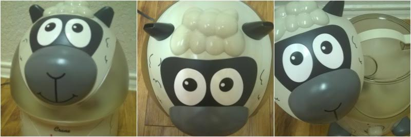 Crane Cool Mist Humidifiers Sidney the Sheep review