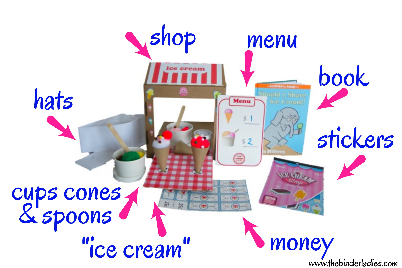 Bramble Box Ice Cream Shop - Inspire imagination for kids!