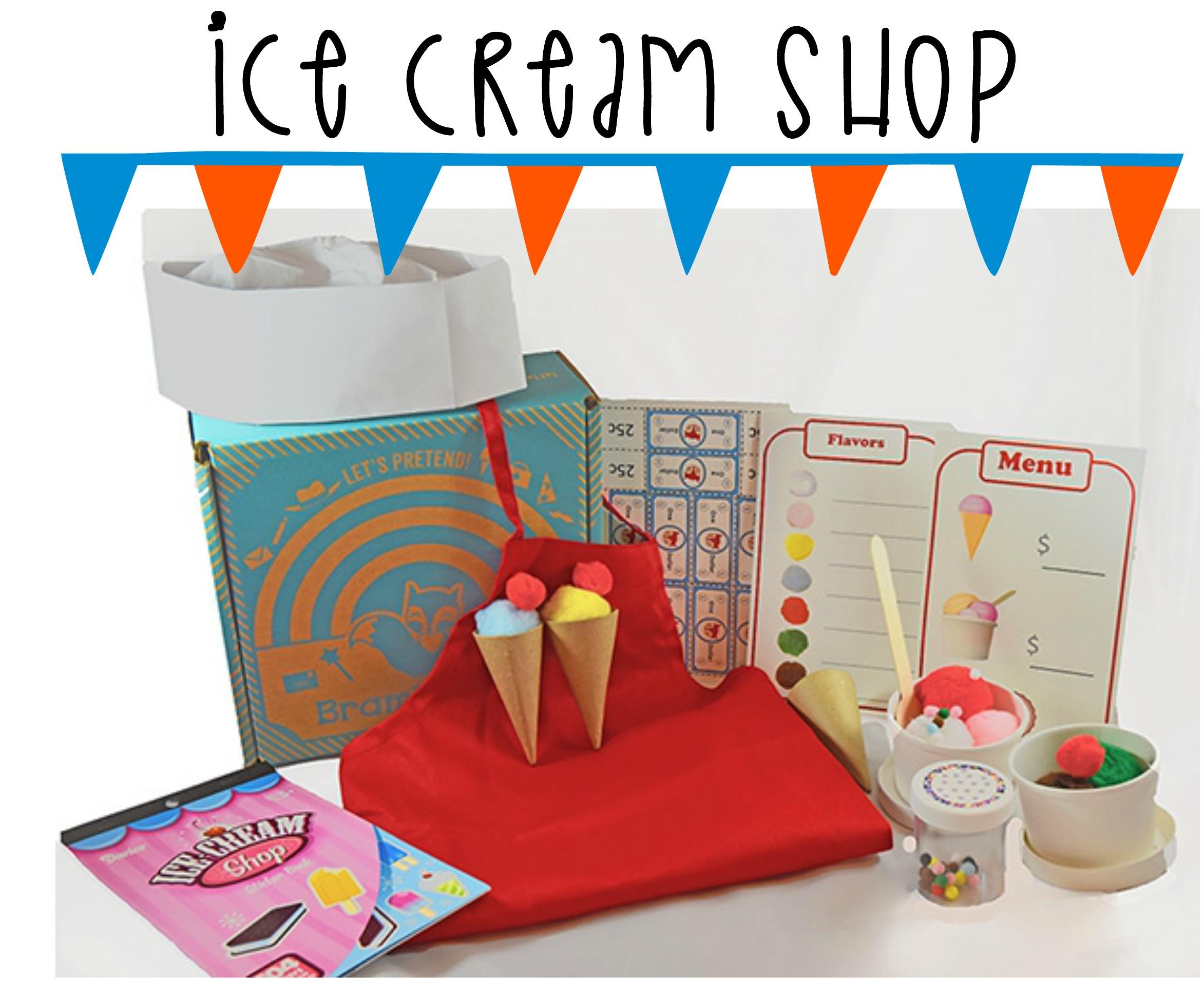 Bramble Box Ice Cream Shop Subscription Box