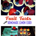 Mini Fruit Tarts with Lemon Curd Recipe