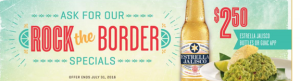 Rock the Border at On the Border This Summer