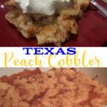 Texas Peach Cobbler