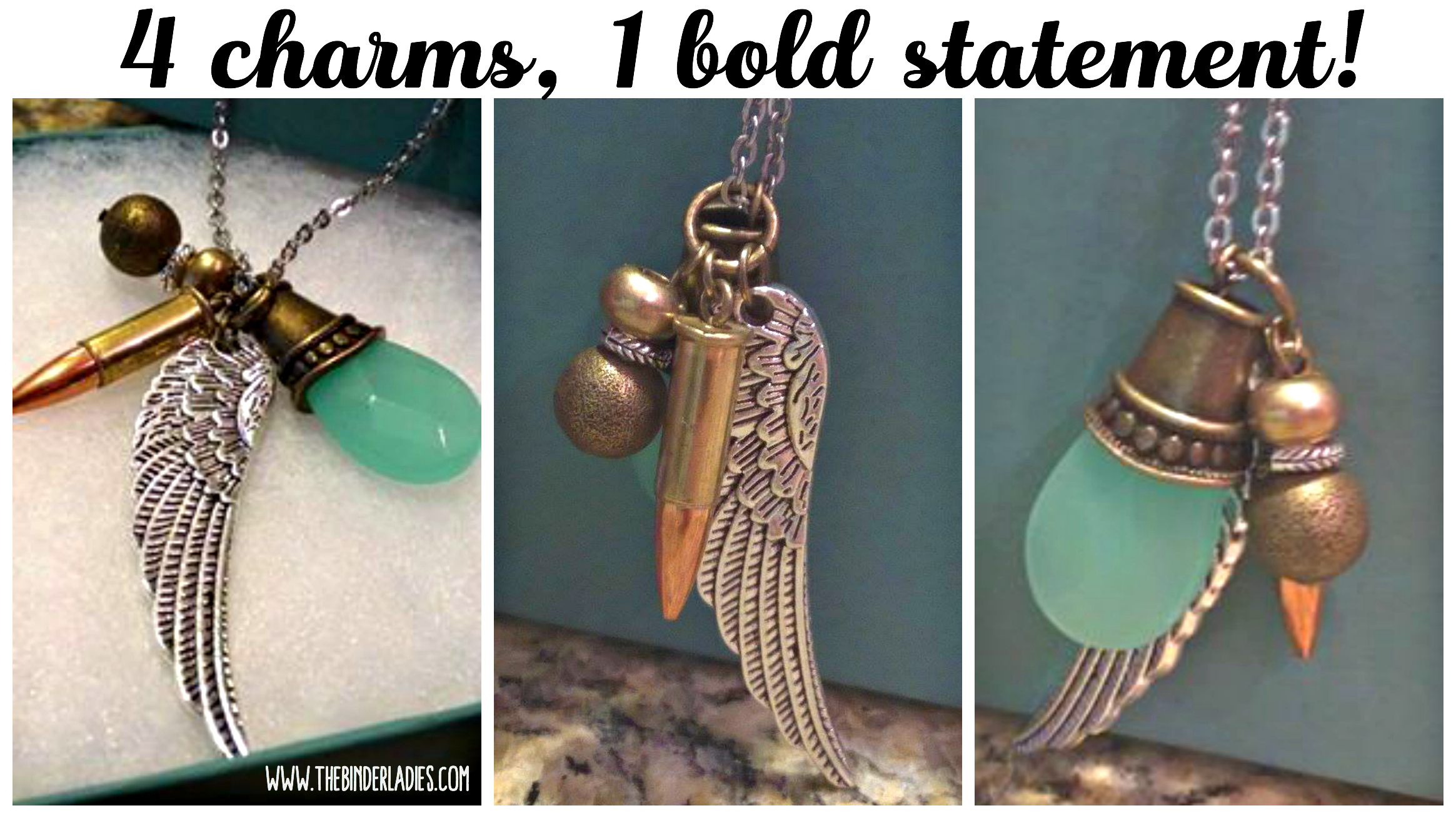 Bullet Designs Wing & Prayer 22 Caliber Bullet Charm Necklace Review!