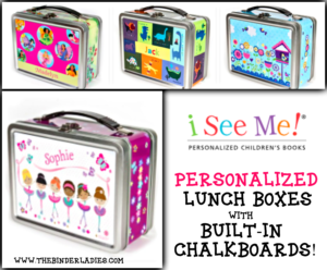 I See Me: Personalized Lunch Boxes For Kids