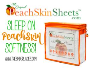 Peachskinsheets: Cooler, Affordable & Better Than Bamboo Sheets