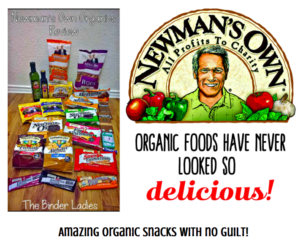 *GIVEAWAY!* Enter to Win a HUGE Prize Pack of Organic Snacks from Newman's Own!