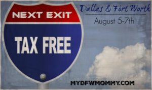 Tax Free Weekend Dallas & Fort Worth (August 5-7th) ~ Deals, Discounts & Offers