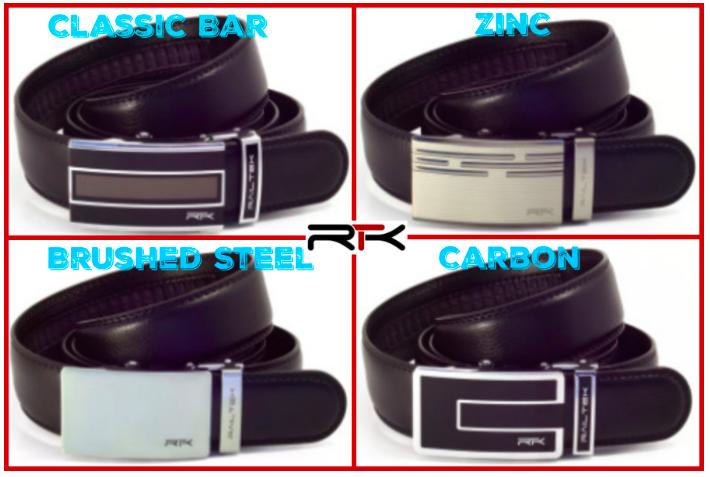 Railtek Belts - ingenious no-holes belts!