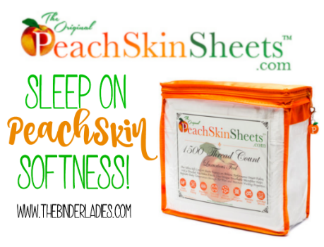 PeachSkinSheets - the softest sheets you'll ever own!