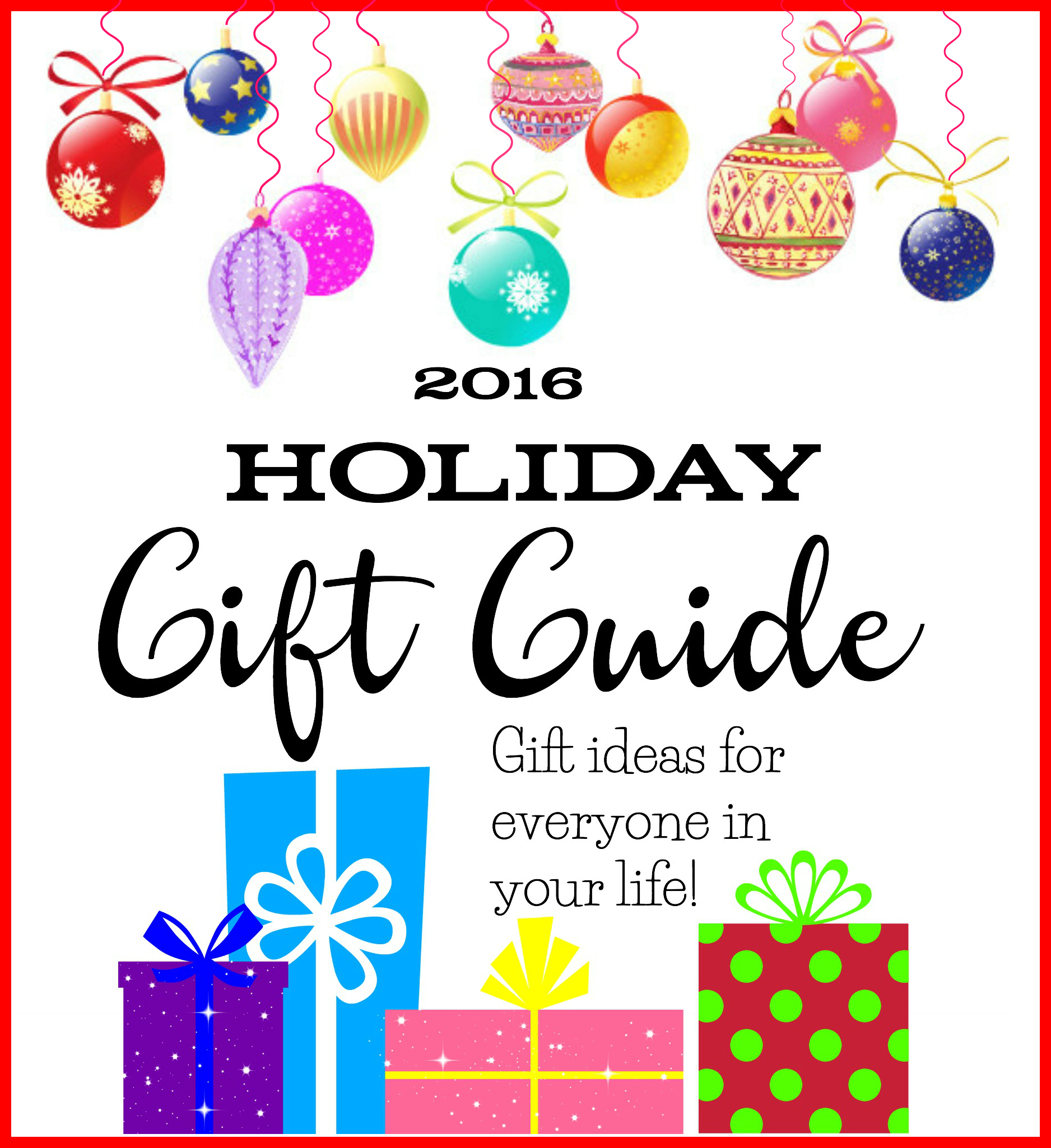2016 Holiday Gift Guide from The Binder Ladies - gifts for teens, gifts for men, gifts for kids, gifts for couples, and more