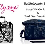 Giveaway! Enter to Win Embroidered Travel Bags by Thirty-One!
