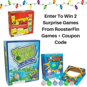 Giveaway! Win 2 Surprise Games from RoosterFin Games!