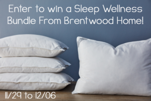 Giveaway! Enter to Win a Sleep Wellness Bundle from Brentwood Home!! RV $276!!