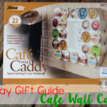 Holiday Gift Guide: Cafe Wall Caddy – Space Saving K-Cup Storage