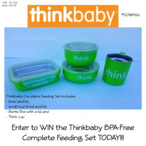 Giveaway! Win the ThinkBaby Feeding Set!