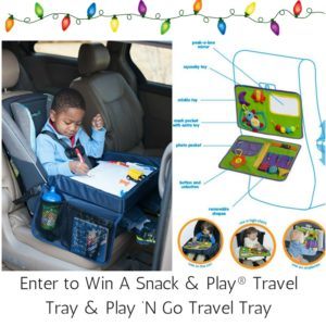 Giveaway! Enter to win a Snack and Play Travel Set!!