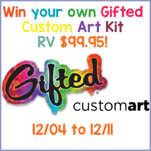 Giveaway! Enter to Win a Gifted Custom Art Kit!! RV $99.95!!