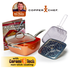 Holiday Gift Guide: Copper Chef All-In-One Cookware