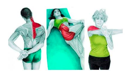 Pictures show exactly what you're stretching