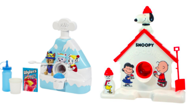 Paw Patrol and Snoopy Snow Cone Makers