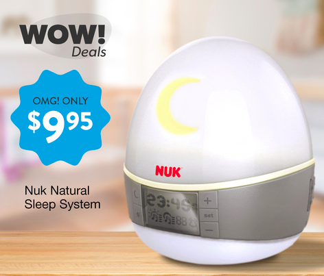 NUK 2-in-1 Sound and Light Machine only $9.95