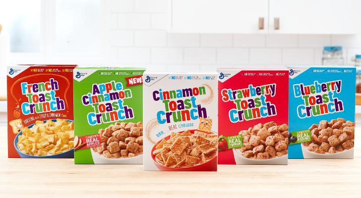Cinnamon Toast Crunch line extension