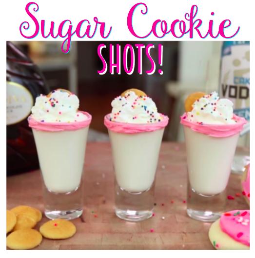 Sugar Cookie Shots