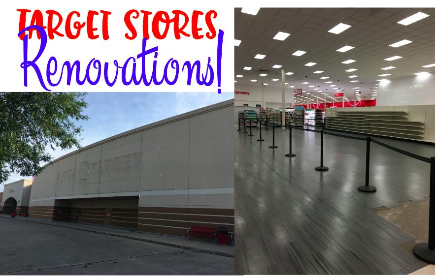 Target stores renovating in Dallas!