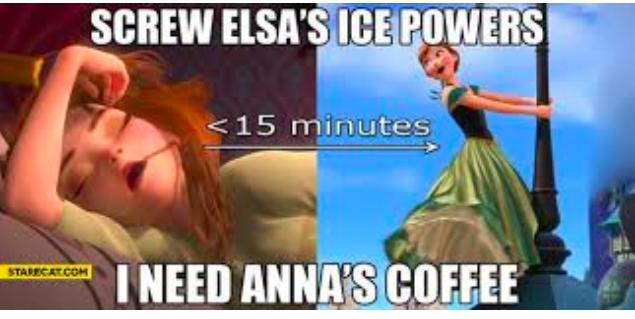 Anna's coffee meme