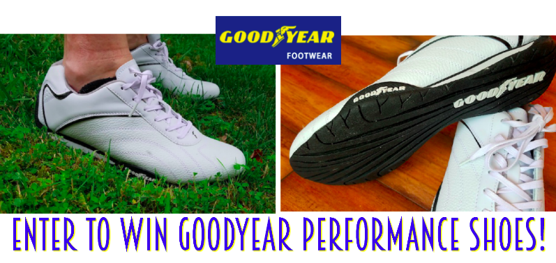 GIVEAWAY - Enter to win a pair of Goodyear Performance Shoes #SummerGuide